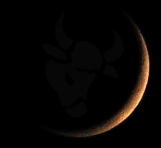 Picture of a  new Moon